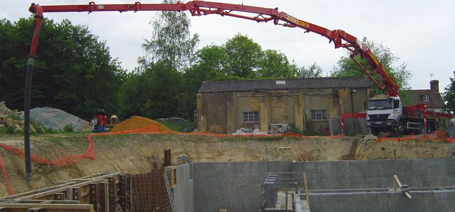 Бетон лотошино купить технология оштукатуривания фасадов цементным раствором