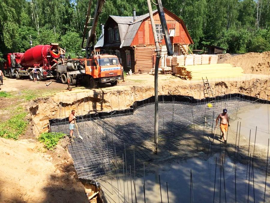 заказать бетон в сергиев посаде с доставкой